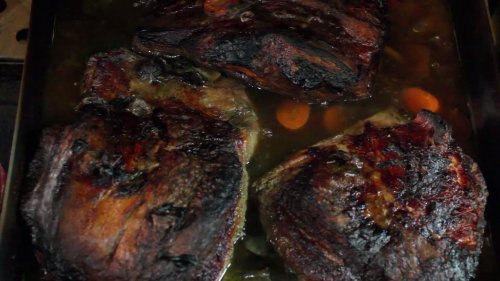Brisket from David's Brisket House in Bed-Stuy, Brooklyn. (YouTube/Screenshot)