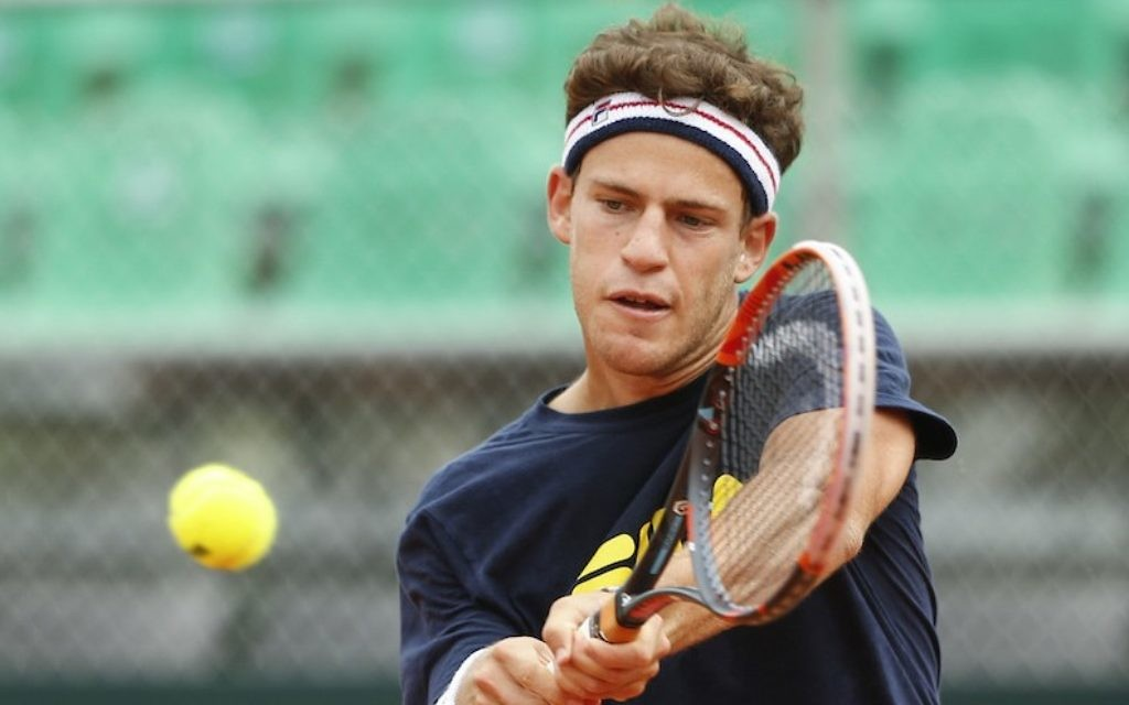 Meet Diego Schwartzman The Best Jewish Tennis Player On Earth The Times Of Israel