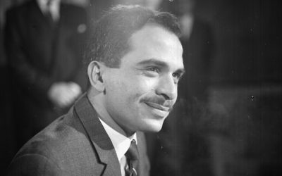 CIA set up King Hussein and Jewish actress, with fatal