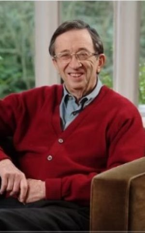An undated photo of South African-born British lawyer and Labour lawmaker Lord Joel Joffe. (Screen capture: YouTube)