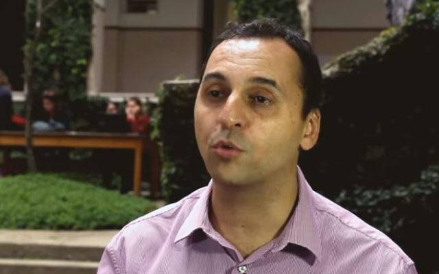 Brazilian journalist Mark Tawil. (Screen capture: YouTube)