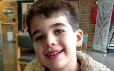 Noah Pozner, 6, was among the 20 child victims of the Dec. 14, 2012 shooting massacre at the Sandy Hook Elementary School in Newtown, Conn., that also claimed six adults. (Courtesy Pozner family, via Forward)