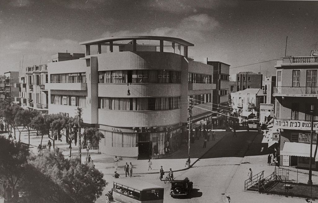 The original look of The Poli House, one of Tel Aviv's historic Bauhaus structures (Courtesy The Poli House)