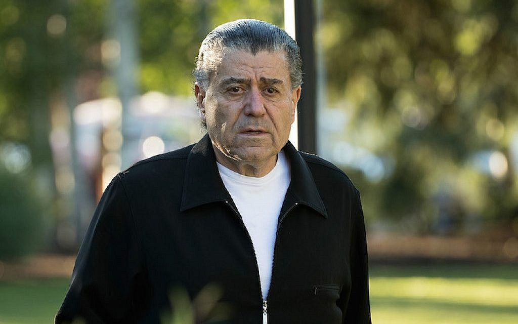 Haim Saban attending the annual Allen & Company Sun Valley Conference in Sun Valley, Idaho, July 7, 2016. (Drew Angerer/Getty Images via JTA)