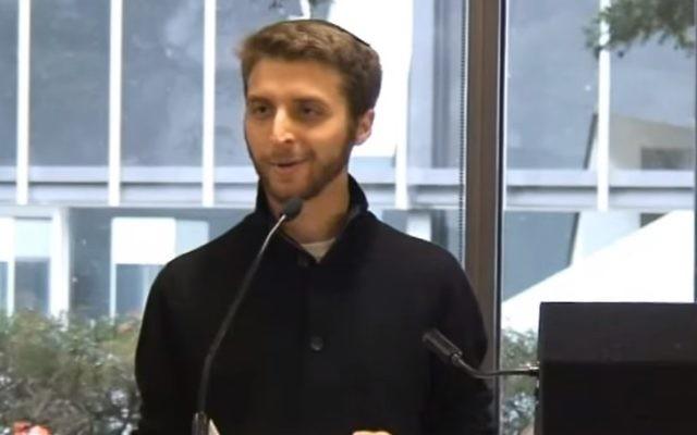 Rabbi Avram Mlotek (YouTube screenshot)