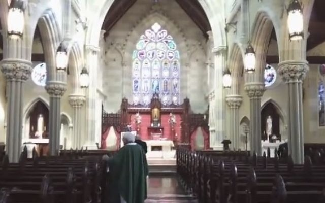 A church in Rhode Island, illustrative (YouTube screenshot)
