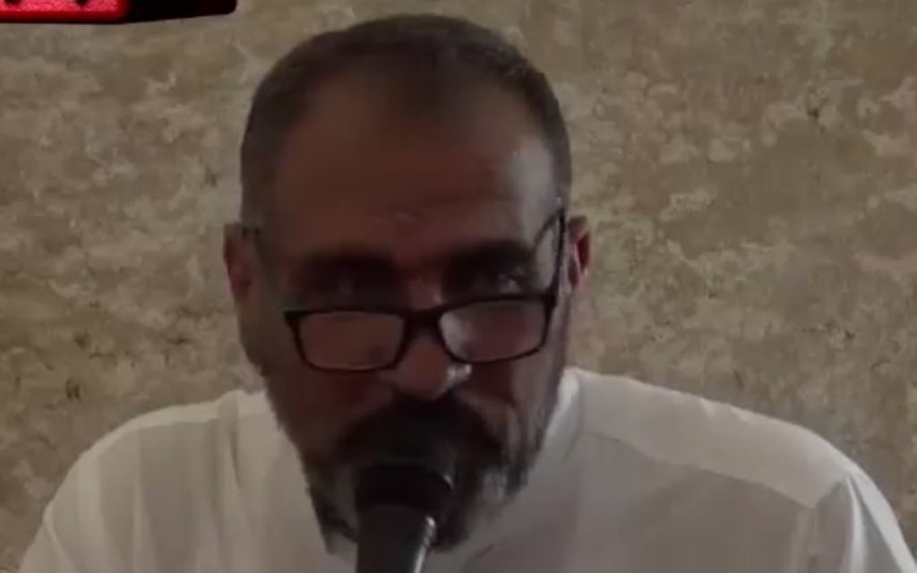 Jews Responsible For All Of World S Ills Says Al Aqsa Preacher