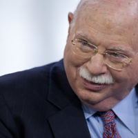 Michael Steinhardt in New York, April 12, 2012. (Scott Eells/Bloomberg/Getty Images/via JTA)