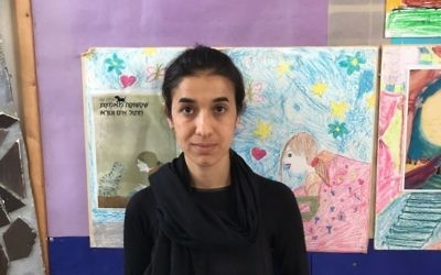 Nadia Murad, a Yazidi survivor of Islamic State enslavement (courtesy)