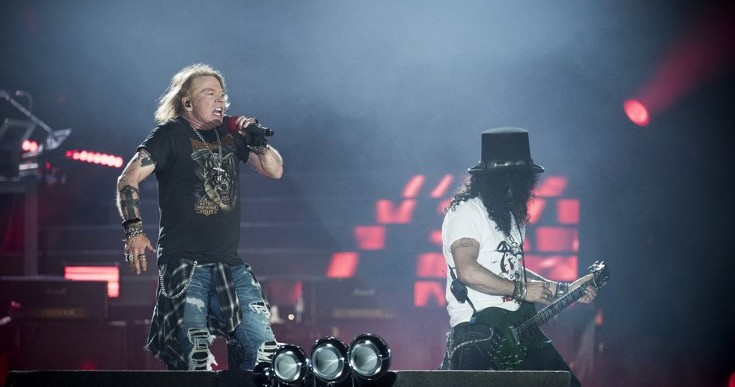 Religious fans knocking on promoter's door after Guns N' Roses