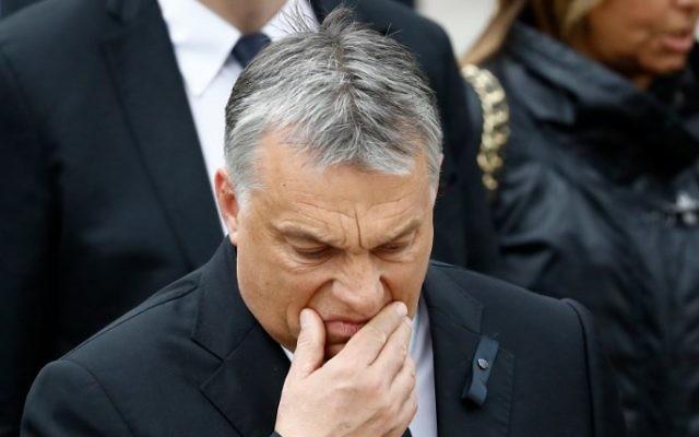 Hungarian Prime Minister Viktor Orban July 1, 2017. (AFP/Odd ANDERSEN)