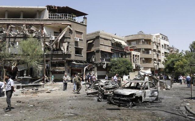 Bombattack pa ambassad i kroatien