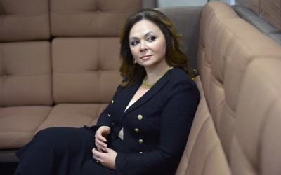 Russian lawyer Natalia Veselnitskaya posing during an interview in Moscow, November 8, 2016. (AFP/Kommersant Photo/Yury Martyanov)