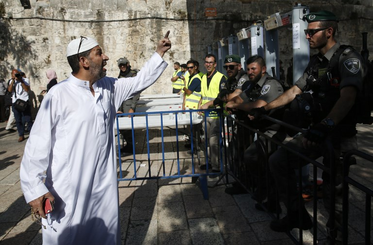 Palestinian Officials Powwow To Protest Temple Mount