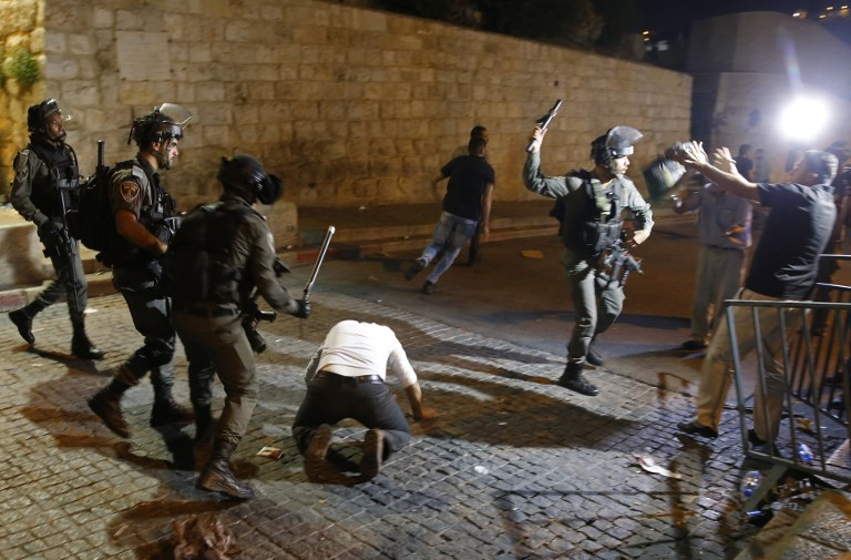 Jew Detector: Clashes Break Out In Old City As Temple Mount Tensions