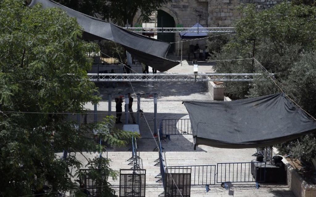 Jew Detector: Police Install Hi-tech Security Cameras Outside Temple
