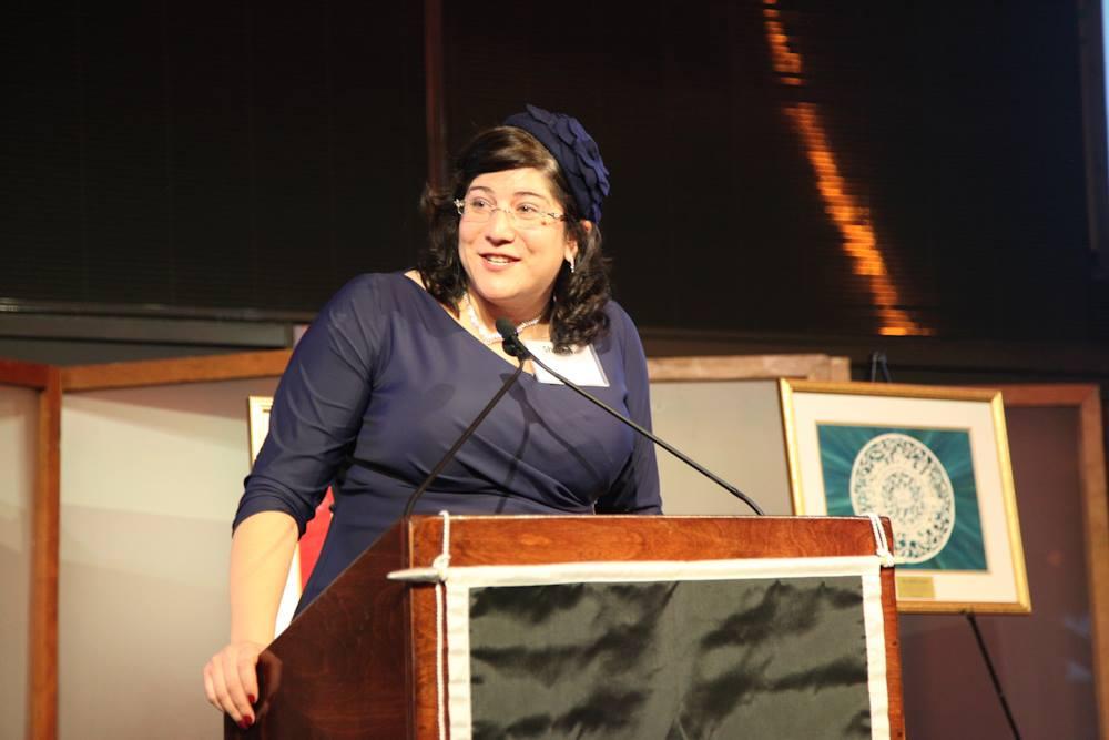 Sharon Weiss-Greenberg, head of JOFA, the Jewish Orthodox Feminist Alliance. (courtesy)