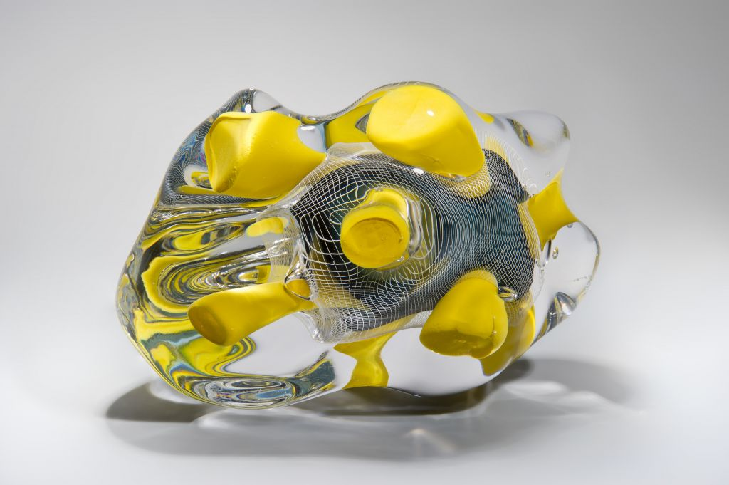 Glass by Peter Layton and London Glassblowers. (Ester Segarra)