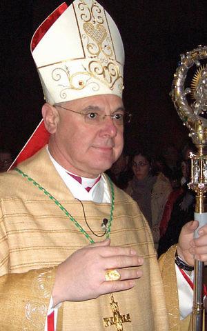 Cardinal Gerhard Mueller seen in 2006 (Wikimedia commons)