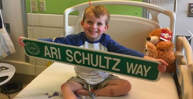 The late Ari 'Danger' Schultz endured many heart surgeries and complications from a March 2017 heart transplant in Boston (Courtesy)