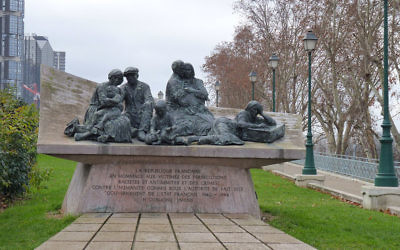 The Vel d'Hiv monument. (CC BY SA 3.0 Leonieke Aalders/Wikipedia).