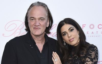 "Quentin Tarantino and Daniella Pick, who had an on again-off again romance, at the premiere of ""The Beguiled"" in June 2017 in Los Angeles. (Jordan Strauss/Invision/AP)"