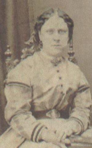 An 1869 photo of Jack the Ripper victim Annie Chapman. (Public domain)