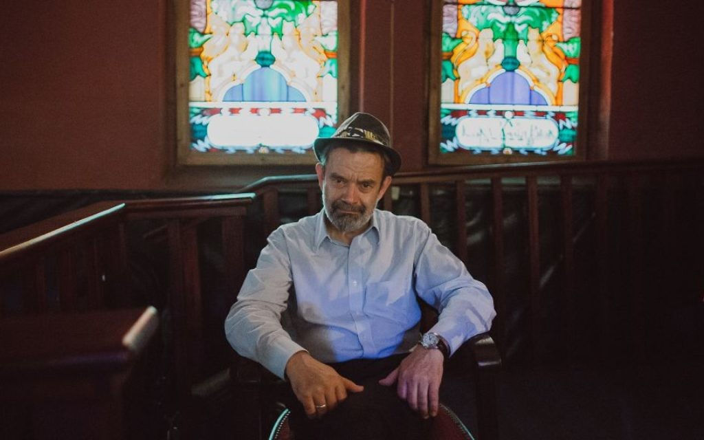 Janusz Makuch is the founder and director of the Krakow Jewish Culture Festival. (Michal Ramus/Krakow Jewish Culture Festival/via JTA)