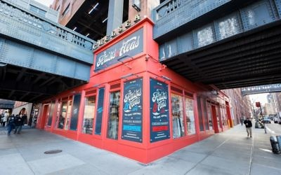 The exterior of the Artists and Fleas location in Chelsea (Courtesy Artists and Fleas)