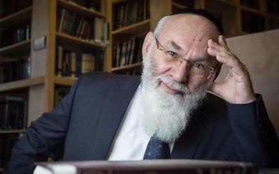 Rabbi Dr. Avraham Steinberg (Shaare Zedek via Twitter)