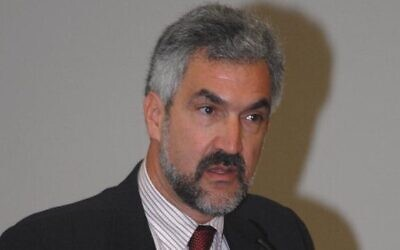 Daniel Pipes at the American Freedom Alliance conference at USC. (CC-BY-ASA: lukeford.net/Wikimedia)