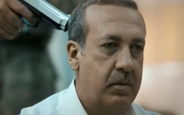 Actor playing Turkish President Recep Tayyip Erdogan  about to be executed in Ali Avci's film 'Uyanis' (Awakening) in trailer released July 13, 2017. (Screen capture: YouTube)