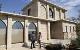 One of the homes set to be demolished in the Netiv Ha'avot outpost in Gush Etzion, September 2, 2016. (Gerhson Elinson/Flash90)