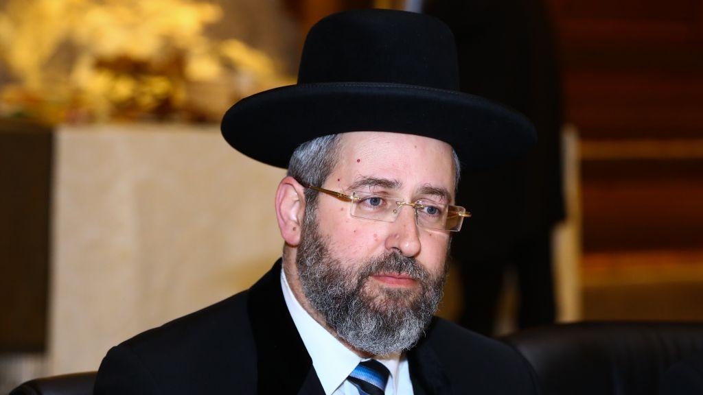 Chief Rabbi Dismisses Split With Us Jews Over Western Wall
