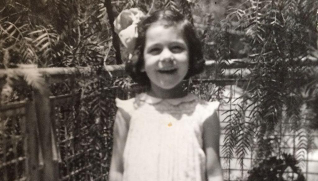 Jerusalem-born Lilly Rivlin at age five. (Courtesy)