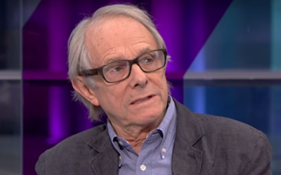 British filmmaker Ken Loach seen during an interview with the UK's Channel 4 News in October 2016. (Screen capture: YouTube)
