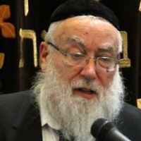 Rabbi Nachum Eisenstein. (courtesy, via JTA)