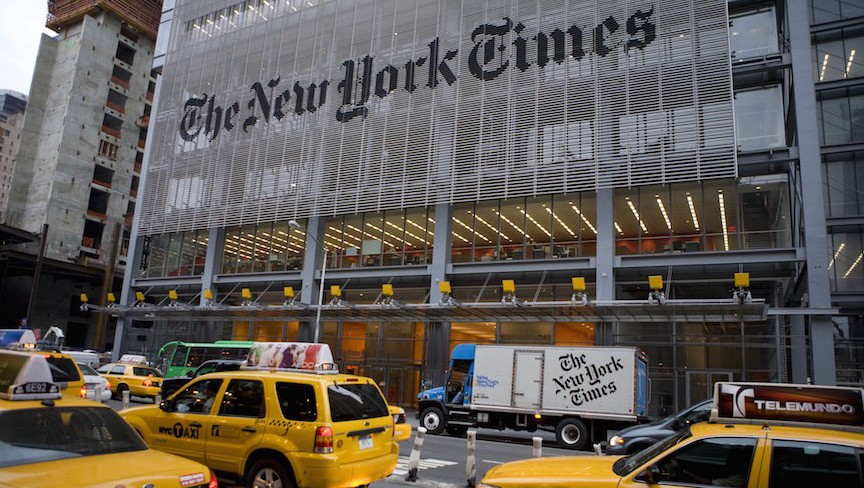 New York Times Regrets Offense Over Story
