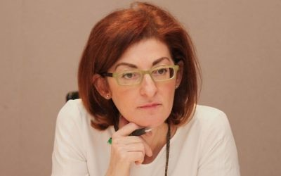 Spanish politician and EU lawmaker Maite Pagazaurtundúa in 2016. (CC BY-SA, Cpsgregorio, Wikimedia commons)