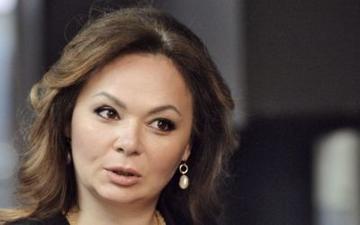 In this photo taken on Tuesday, Nov. 8, 2016, Kremlin-linked lawyer Natalia Veselnitskaya speaks to a journalist in Moscow, Russia. (Yury Martyanov/Kommersant Photo via AP)