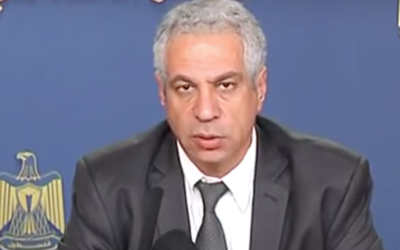 Former Palestinian Authority Social Affairs minister Shawqi al-Issa. (Youtube)
