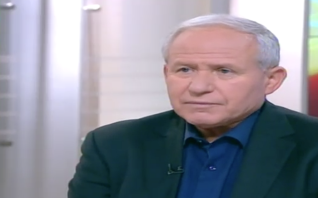 Avi Dichter (Channel 2 screenshot)