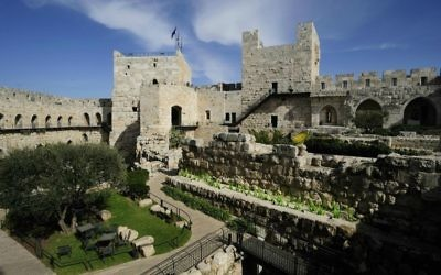 The Tower of David Museum. (Naftali Hilger)