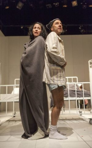 Efrat Ben Zur and Dror Keren in 'To the End of the Land.' (Gérard Allon/ Courtesy)
