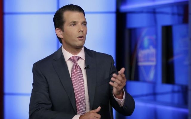 Long his father's attack dog, Trump Jr. now in eye of ...