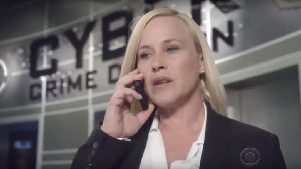 Dr. Mary Aiken inspired the American CBS TV series CSI: Cyber, starring Patricia Arquette as Avery Ryan, the head of the FBI's cyber-crime division. (YouTube screenshot)