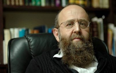 Rabbi Shimon Gershon Rosenberg, or Rav Shagar, as he is better known (Hugh Gordon)