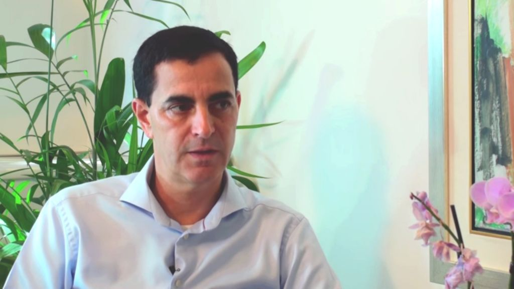Teva CEO Chaim Hurvitz (screenshot: YouTube)
