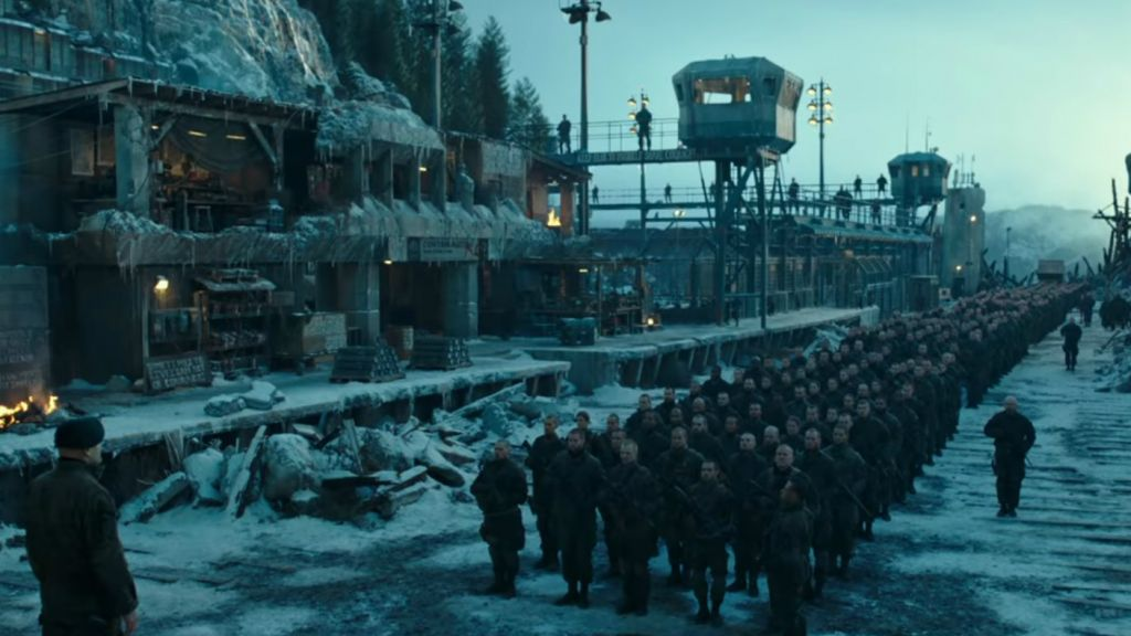 A screenshot from 'War for the Planet of the Apes.' (Youtube)