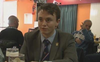 Jack Renshaw (YouTube screenshot)